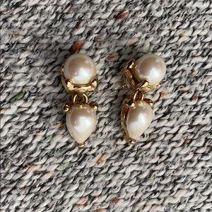 Vintage Marvella Pearl Dangle Earrings